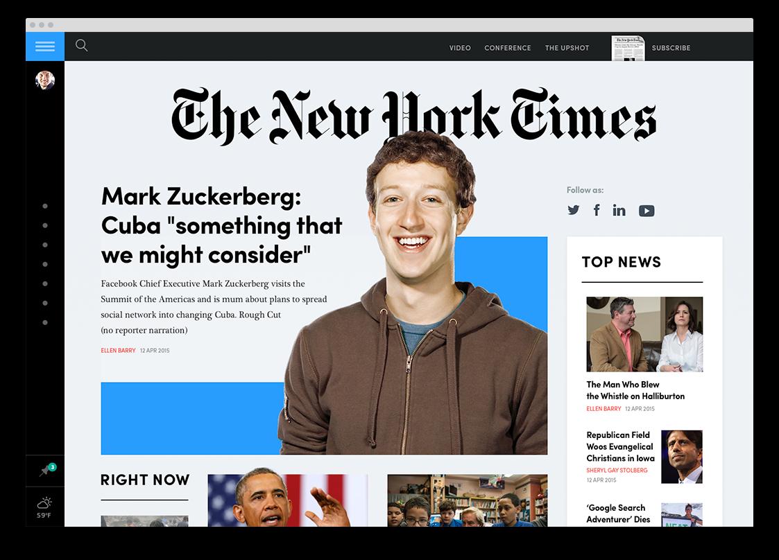 Rethink Digital Newspapper