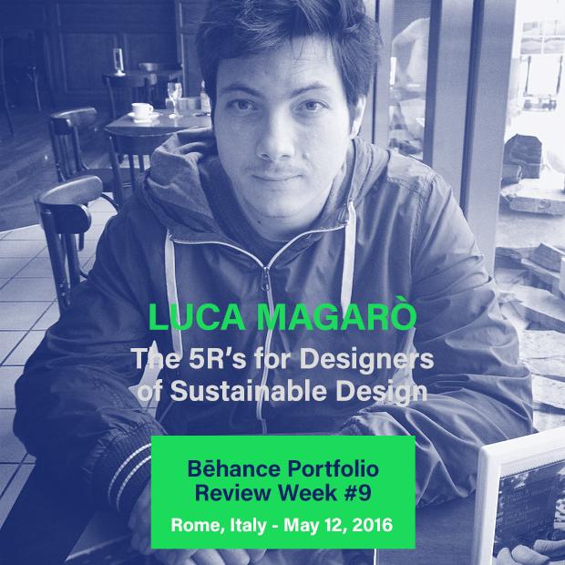 Luca Magarò, Vivo Design Studio, Behance Portfolio Review