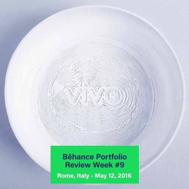vivo design studio behance portfolio review