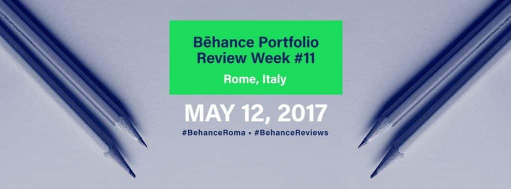Behance portfolio Reviews Roma